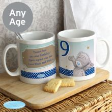 Personalised Me To You Birthday Big Age Male Mug P0805F16